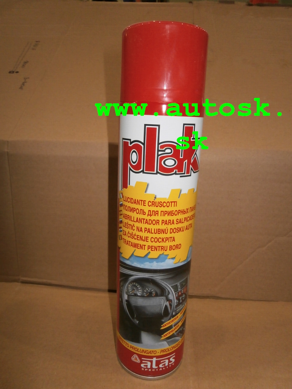 Cocpit Plak citrón 600 ml