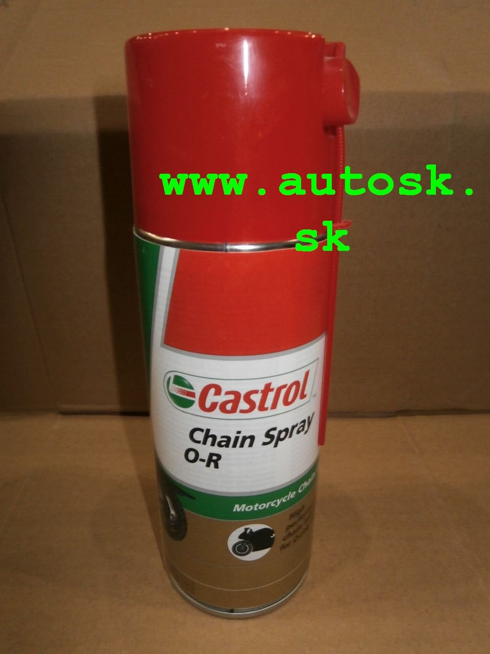 Spray na reťaze Castrol 400 ml