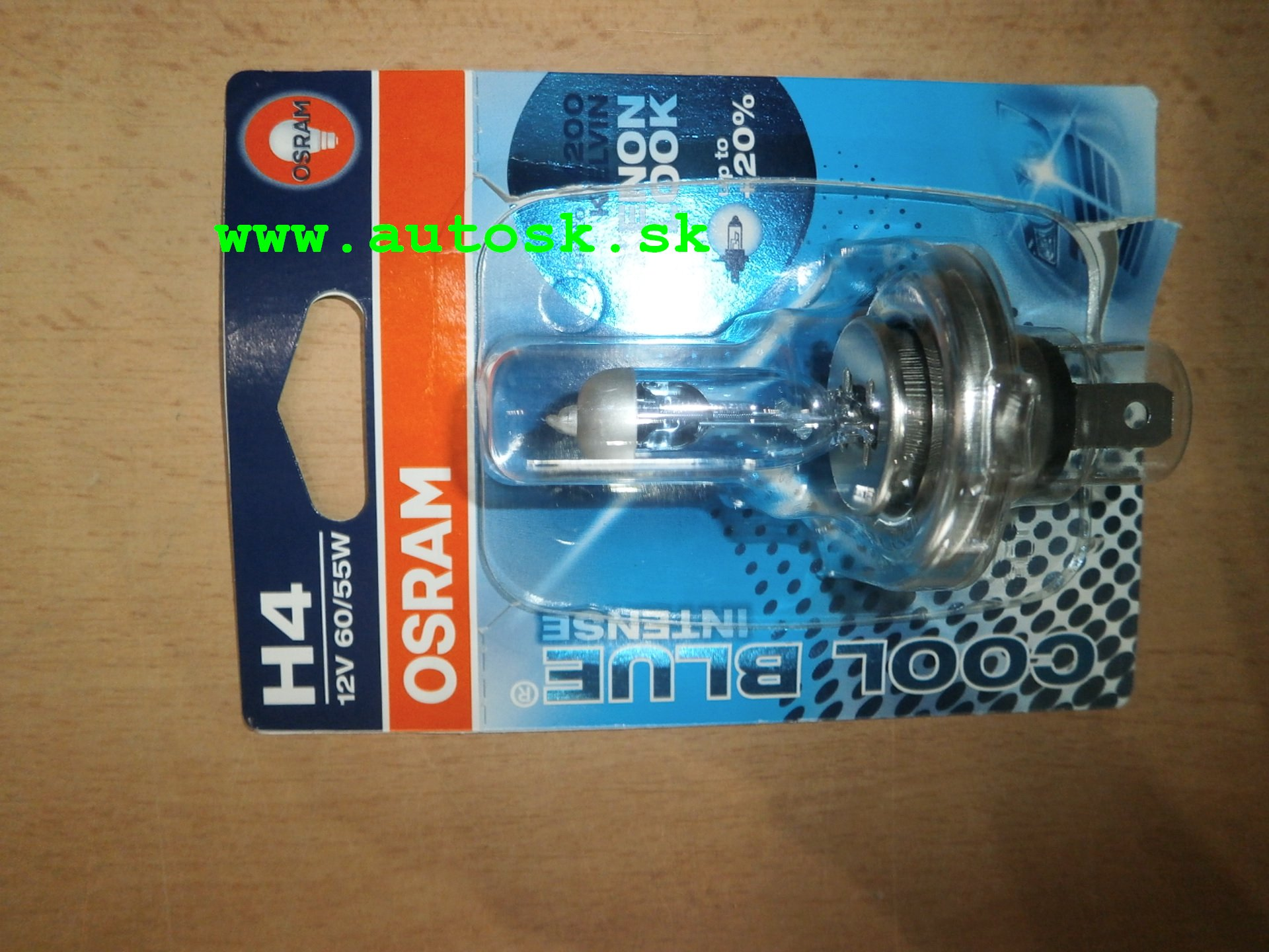 OSRAM Cool Blue Intense H4 55W