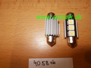 Led žiarovka sufit 36 mm 1Ks 12V 3 LED