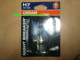 OSRAM Night Breaker Unilimited H7